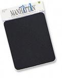 Mousepad Manhattan de Espuma, Grosor 6mm, Negro