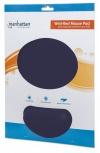 Mousepad Manhattan con Descansa Muñecas de Gel, 20x24cm, Grosor 4mm, Azul Marino