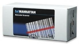 Manhattan 460835 Lector de Código de Barras CCD - incluye Cable USB