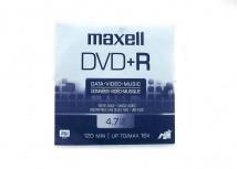 Maxell Disco Vírgen para DVD, DVD+R, 16x, 4.7GB