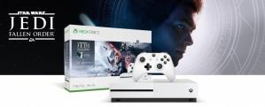 Microsoft Xbox One S Star Wars Jedi: Fallen Order, 1TB, WiFi, 2x HDMI, 3x USB, Blanco