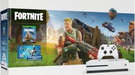 Microsoft Xbox One S Fornite, 1TB, WiFi, 2x HDMI, 3x USB, Blanco