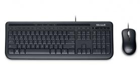 Kit de Teclado y Mouse Microsoft Wired Desktop 600 Business, Alámbrico, USB, Negro (Inglés)