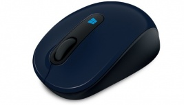 Mouse Microsoft BlueTrack Sculpt Mobile, Inalámbrico, USB, 1000DPI, Negro/Azul