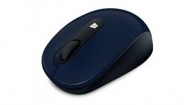 Mouse Microsoft Tilt Sculpt Mobile, RF Inalámbrico, 1000DPI, Negro/Azul
