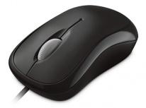 Mouse Microsoft Óptico 4YH-00005, Alámbrico, USB+PS/2, 800DPI, Negro