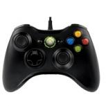 Microsoft Xbox 360 Controller, Alámbrico, Negro