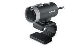 Microsoft LifeCam Cinema 6CH-00001, 5MP, USB 2.0, Negro/Plata