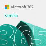 Microsoft 365 Familia, 32/64-bit, 5 Dispositivos, 6 Usuarios, Plurilingüe, Windows/Mac/Android/iOS ― Producto Digital Descargable