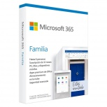 Microsoft 365 Familia, 32/64-bit, 5 Dispositivos, 6 Usuarios, Español, Windows/Mac/Android/iOS
