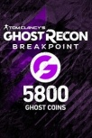 Tom Clancy's Ghost Recon Breakpoint 5800 Ghost Coins, Xbox One ― Producto Digital Descargable
