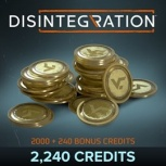 Disintegration, 2240 Credits, Xbox One ― Producto Digital Descargable