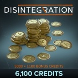 Disintegration, 6100 Credits, Xbox One ― Producto Digital Descargable