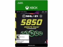 NHL 21: 5850 Points, Xbox One ― Producto Digital Descargable
