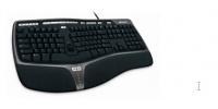 Teclado Microsoft Natural Ergonomic Keyboard 4000, Alámbrico, 1.5 Metros, USB (Inglés)
