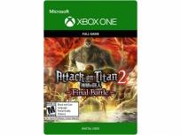 Attack on Titan 2: Final Battle, Xbox One ― Producto Digital Descargable