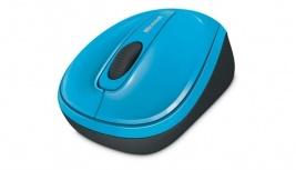 Mouse Microsoft BlueTrack Wireless Mobile 3500, RF Inalámbrico, Azul