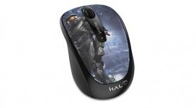 Mouse Microsoft Wireless Mobile BlueTrack 3500 Halo Edición Limitada: The Master Chief, Inalámbrico, USB