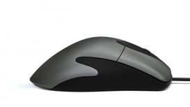 Mouse Microsoft Óptico Classic IntelliMouse, Alámbrico, USB, 3200DPI, Negro/Plata