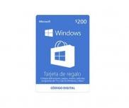 Microsoft Tarjeta de Regalo Windows, 200 MXN ― Producto Digital Descargable