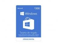 Microsoft Tarjeta de Regalo Windows, 300 MXN ― Producto Digital Descargable