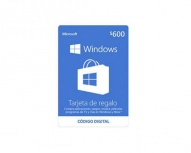 Microsoft Tarjeta de Regalo Windows, 600 MXN ― Producto Digital Descargable