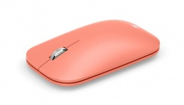Mouse Microsoft BlueTrack Modern Mobile, Inalámbrico, Bluetooth, 1000DPI, Durazno