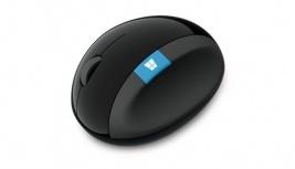 Mouse Microsoft Sculpt Ergonomic BlueTrack, Inalámbrico, USB, Negro