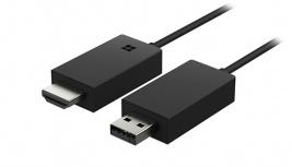 Microsoft Adaptador Inalámbrico HDMI y USB 2.0 con WiFi, Negro