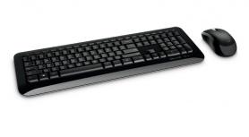 Kit de Teclado y Mouse Microsoft Desktop 850, RF Inalámbrico, Negro (Español)
