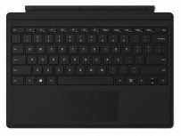 Microsoft Funda con Teclado QC7-00001 para Surface Pro 4, Negro