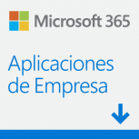 Microsoft 365 Aplicaciones de Empresa, 1 Usuario, 5 Dispositivos, Plurilingüe, Windows/Mac/Android/iOS ― Producto Digital Descargable