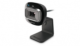 Microsoft LifeCam Studio para la Oficina HD-3000 con Micrófono, 720p, USB 2.0, Negro