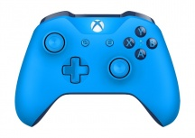 Microsoft Gamepad para Xbox One/Xbox One S, Inalámbrico, Bluetooth, Azul