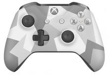 Microsoft Gamepad/Control para Xbox One y PC, Inalámbrico, Bluetooth, Camuflaje