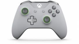 Microsoft Gamepad para Xbox One/Xbox One S, Inalámbrico, Gris