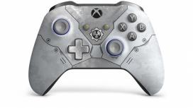 Microsoft Control Gears 5 Kait Diaz Edición Limitada para Xbox One, Inalámbrico, Bluetooth, Gris