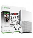 Microsoft Xbox One S, 1TB, WiFi, 2x HDMI, Blanco