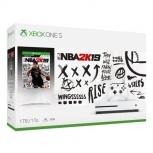 Microsoft Xbox One S NBA 2K19, 1TB, WiFi, 2x HDMI, 3x USB, Blanco - Incluye Madden 20