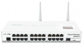 Switch MikroTik Gigabit Ethernet Cloud Router, 24 Puertos 10/100/1000Mbps - Gestionado