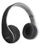 Misik Audífonos con Micrófono MH624, Bluetooth, Inalámbrico, USB, Negro/Gris