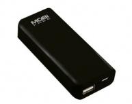 Cargador Portátil Mobifree Power Bank MB-01048, 4000mAh, Negro
