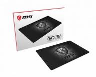 Mousepad Gamer MSI AGILITY GD20, 22 x 32cm, Grosor 5mm, Gris/Negro