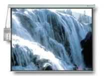 Multimedia Screens Pantalla de Proyección Eléctrica MSE-244, 96'', Blanco
