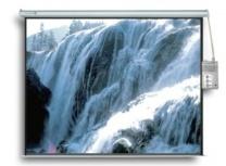 Multimedia Screens Pantalla de Proyección Electrica MSE-305, 170'', Blanco