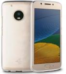 Muvit Funda Crystal Soft para Motorola Moto G5, Transparente