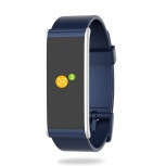 MyKronoz Smartwatch ZeFit4, Touch, Bluetooth 4.0 BLE, Android/iOS, Azul/Plata