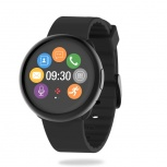MyKronoz Smartwatch ZeRound2, Touch, Bluetooth 4.0 BLE, Android 5.0/iOS 9.3, Negro