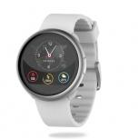 MyKronoz Smartwatch ZeRound2, Touch, Bluetooth 4.0 BLE, Android 5.0/iOS 9.3, Blanco/Plata