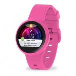 MyKronoz Smartwatch ZeRound3 Lite, Touch, Bluetooth 4.2, Android/iOS, Rosa - Resistente a Salpicaduras